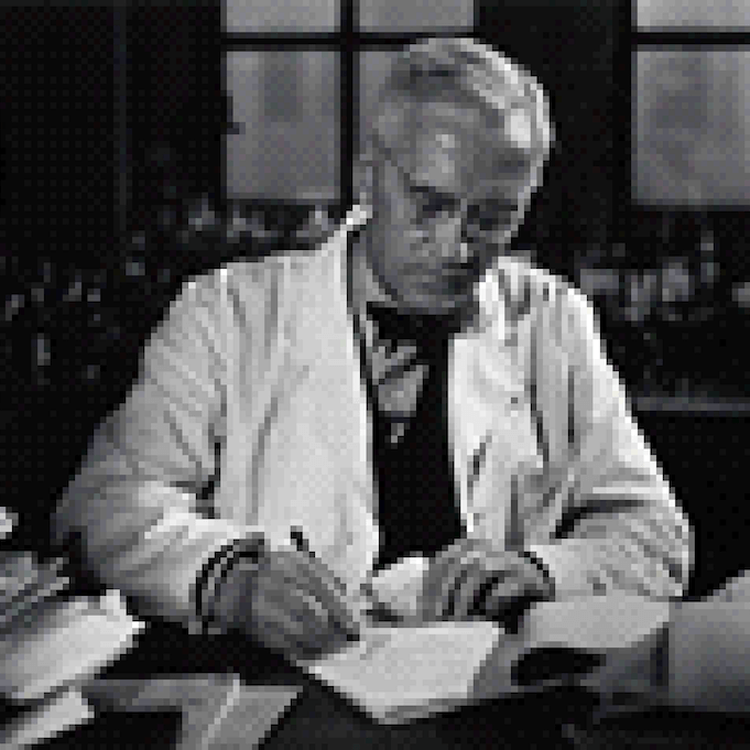 Sir Alexander Fleming, discovered penicillin in 1928